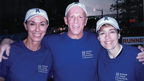 Sue and I were joined by Andrea White at the 2004 Race for the Cure.